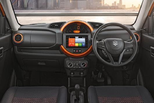 Maruti Suzuki S-Presso cabin. (Image: Maruti Suzuki)