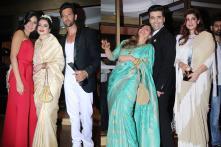 Katrina-Rekha Bond; Dimple, Twinkle Share a Light Moment With Karan Johar