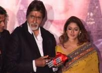 Big B 'sorry' for late Bhojpuri debut