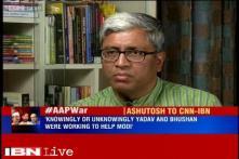 Yogendra Yadav, Prashant Bhushan conspired to Kejriwal as AAP's national convenor: Ashutosh