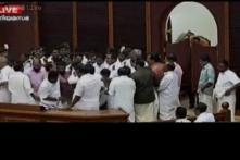 5 Left MLAs suspended by Kerala Speaker over ruckus in Assembly