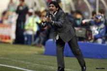 Maradona apologises to Platini but not Pele