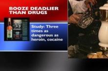 Alcohol more harmful than heroin or coke: report