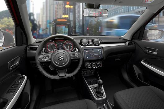 Maruti Suzuki Swift, Suzuki Swift, Geneva Motor Show, Interiors