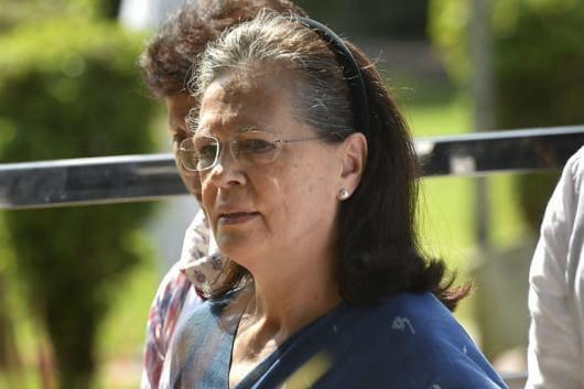 Former Congress president Sonia Gandhi. (PTI Photo)