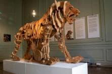 Leonardo Da Vinci's 'Mechanical Lion' Is Now on Display in Paris