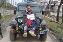 J&K Govt Refuses Rs 10 Lakh Compensation to 'Human Shield' Farooq Ahmed Dar