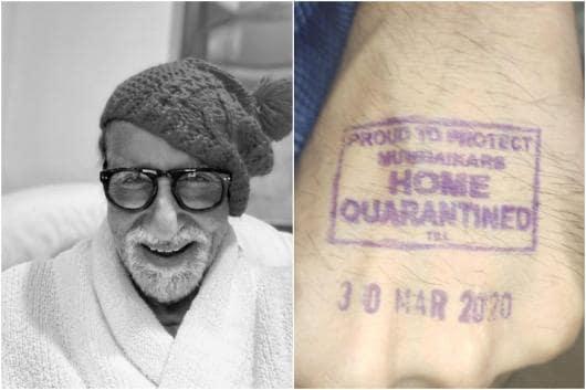 Amitabh Bachchan (L)