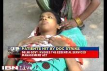 Delhi government invokes ESMA on striking doctors