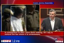 Jammu and Kashmir: Omar demands repeal of AFSPA