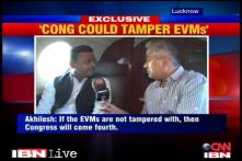 Cong may tamper with EVMs in UP: Akhilesh