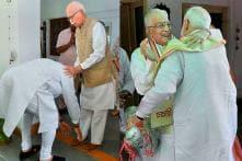PICS: PM Modi Seeks Blessings from LK Advani, MM Joshi After Historical Victory