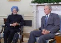 N-deal on track, Bush assures Manmohan Singh