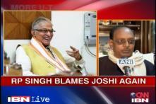 Former CAG official RP Singh blames Murli Manohar Joshi again