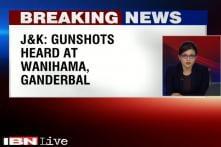 Gunshots heard at Wanihama in Ganderbal, J&K
