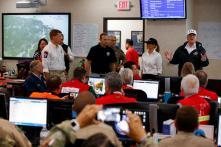 Donald Trump Visits Texas, Calls Hurricane Harvey Response 'Real Team' Effort