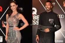 Elli AvRam & Hardik Pandya Shine at GQ Best Dressed Awards 2018