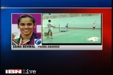 Dream come true to get Padma Bhushan, says Saina Nehwal