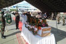 Homage Paid to Assam Rifles Martyr in Manipur, CM N Biren Condemns Attack