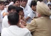 Self-immolation bid at anti-quota rally