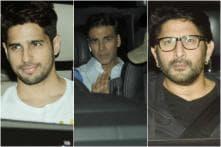 Akshay Kumar, Sidhrath Malhotra, Arshad Warsi Attend Jolly LLB 2 Special Screening