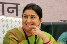 Smriti Irani Takes Charge of I&B After Venkaiah Naidu's Resignation