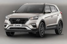 New Hyundai Creta Facelift Spotted in India Completely Undisguised
