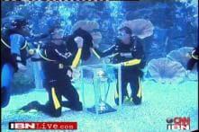 Proteas take WC trophy for a swim