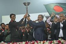 Bangladesh U-19 World Champions Return Home to a Hero's Welcome
