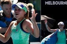 Australian Open: Sofia Kenin Stuns Local Hope Ash Barty to Make 1st Grand Slam Final