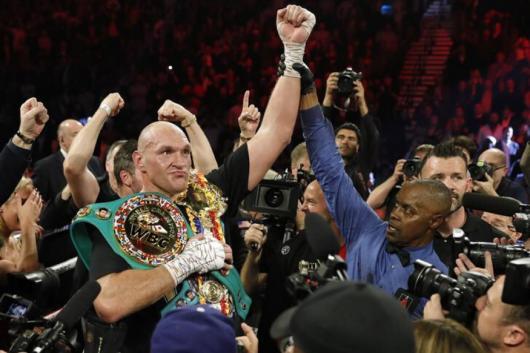 Tyson Fury (Photo Credit: Reuters)