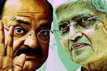 Vice-Presidential Election Live:  Venkaiah Naidu Defeats Gopalkrishna Gandhi by 272 Votes
