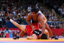 All Eyes On Sushil Kumar at Wrestling Nationals