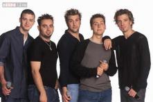 N'Sync member reunite for band mate Kirkpatrick's wedding