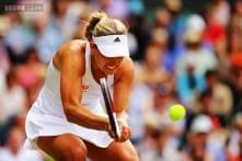 Sharapova falls to Kerber in three sets at Wimbledon