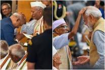 Prez Kovind, PM Modi Bow Before Freedom Fighters on Quit India Movement Anniversary