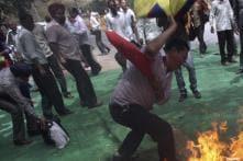 Tibetan activist who set himself on fire dies
