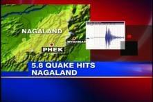 5.8 magnitude earthquake jolts Nagaland