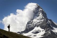 Trains Resume Service in Snowbound Swiss Ski Resort
