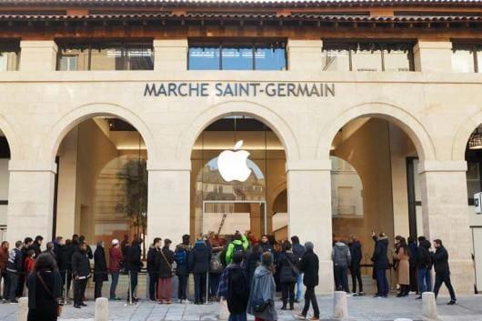Apple Marché Saint-Germain (Image: Apple)