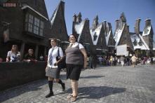 'Harry Potter' stars help debut Universal Orlando ride
