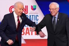 Presidential Debate During Coronavirus: An Elbow Bump Greeting for Biden and Sanders