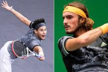 Paris Masters: Dominic Thiem Grinds Out Win Over Milos Raina, Stefanos Tsitsipas Through