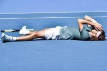 Stefanos Tsitsipas Flies into 'Fairytale' First Slam Semi-final