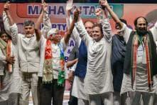 Rahul Shares Stage With Chandrababu Naidu in Telangana, TDP Chief Calls it 'Historic Necessity'