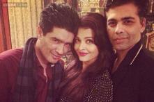 Snapshot: Aishwarya Rai Bachchan parties with Karan Johar and Manish Malhotra on her 41st birthday