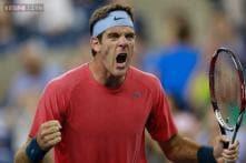 Del Potro battles his way into Round 2 at US Open
