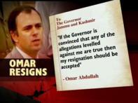 Omar stays J-K CM as political drama continues