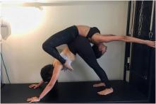 Malaika Arora Strikes a Never-seen-before Pilates Pose, Fans Ask How it is Done