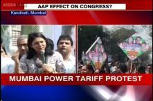 Mumbai: Priya Dutt, Sanjay Nirupam lead protest for power tariff cut